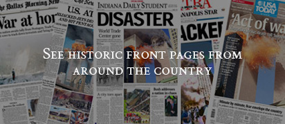 See historic front pages from around the country