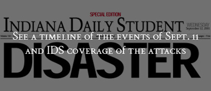 View the Timeline of events of September 11th and IDS coverage of the attacks